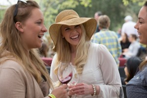 Sonoma County's 37th Annual Barrel Tasting at Truett Hurst Winery in Healdsburg. (Photo by Jeremy Portje)