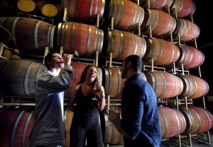 The 36th Annual Wine Road Barrel Tasting at Wilson Vineyards in the Dry Creek Valley. (Photo by John Burgess)